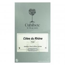 Côtes du Rhône rouge BIB 10 litres