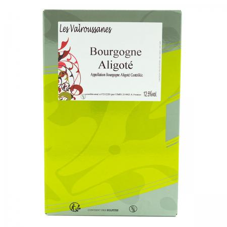 Bourgogne Aligoté Bag in Box de 5 Litres